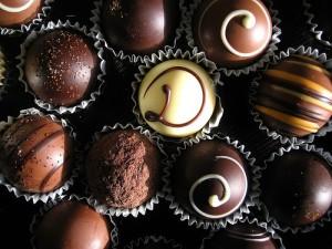 подарок - конфеты