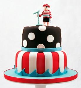 Торт для свадьбы в пиратском стиле
