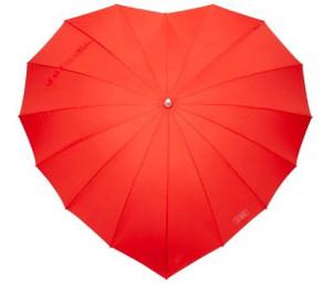 Зонт-сердце