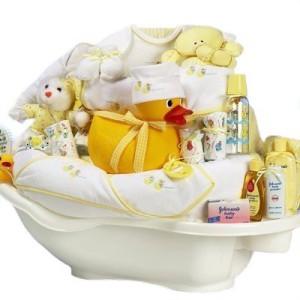 подарок в ванночке