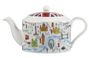 Заварочный чайник с символикой Лондона