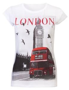 Лондонская футболка