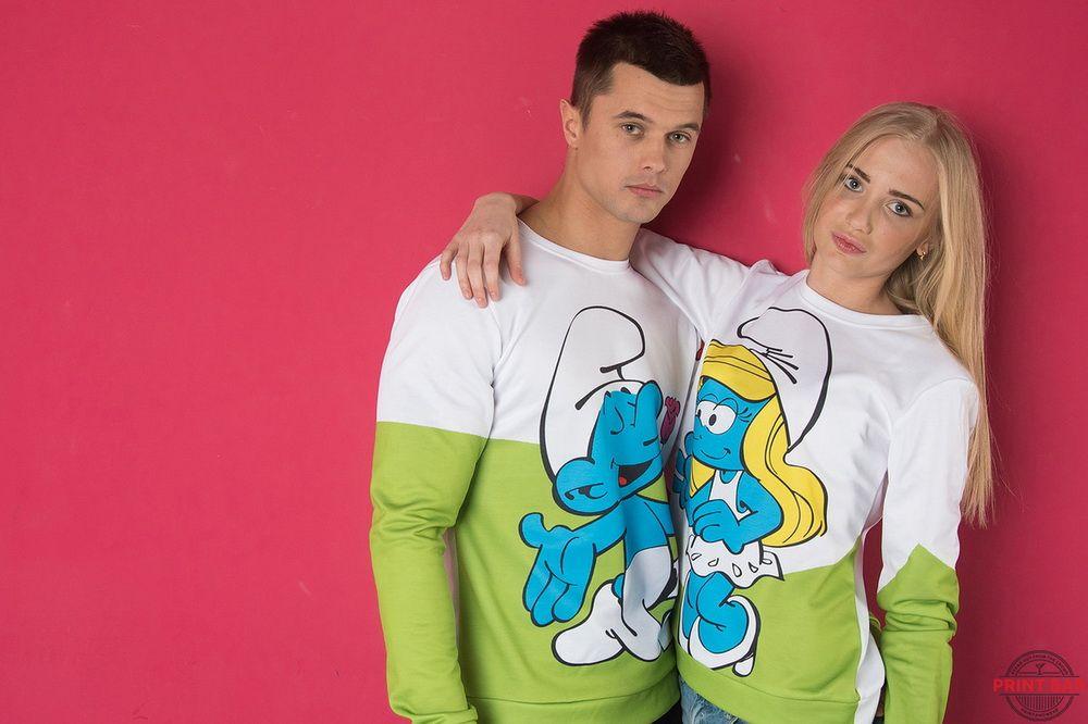 Две футболки для влюбленных