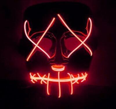 Светящаяся маска